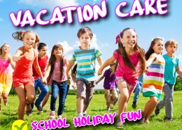 October Vacation Care 2019
