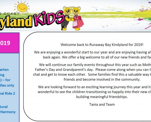 Runaway Bay Term 1 Newsletter